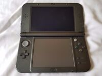 """""""New"""" Nintendo 3DS XL - Black, Bundled with Charger, Case and Powersaves"""