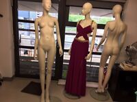 3 x Display visual merchandising Full length Mannequin