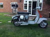 Lambretta sx 150 uk registered from mew