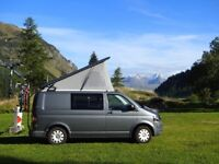 VW T5 Camper with Pop Top Roof 2011, 53,000 miles