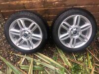 "Mini 16"" alloys plus nearly new runflat tyres"