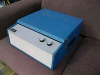 VINTAGE TELLUX VALVE RECORD PLAYER SOLD FOR SPARES OR REPAIR