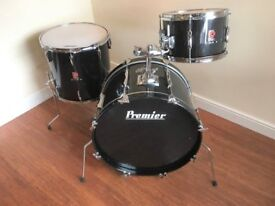 Wokingham Drum Sales - Vintage Premier Club Drum Kit - Early 80's - Great Birch Shells
