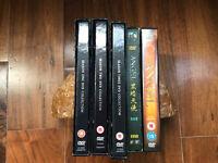 Angel all series on DVD (Seasons 1 - 5)