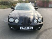 2001 Jaguar S-Type automatic, starts and drives well, black leather interior, clean inside and out,