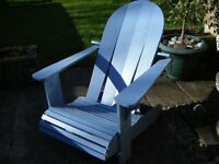 Conseratory or Patio Chair, Adirondack chair,