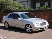 EXCELLENT EXAMPLE!! 2004 MERCEDES-BENZ C CLASS 2.1 C220 CDI ELEGANCE SE 4dr, FULL LEATHER AMG WHEELS