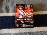 Sapphire Radeon HD6570 2GB DDR3 Graphics Card *Mint Condition*