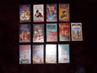 DISNEY VIDEO COLLECTION OF 13 TITLES