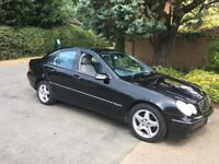 Mercedes C200 Automatic - very low mileage - air con - power steering - family owned - service/hist