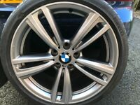 BMW ALLOY WHEELS 19 INCH 442 STYLE GENUINE - SUIT 3 OR 4 SERIES F30 / E90