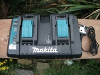 Double Makita Quick Charger 7.2v - 18v Lithium Li Ion NiCd NiMh Battery! £49 No offers!