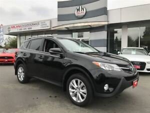 2015 Toyota RAV4 LIMITED AWD, FULLY LOADED LEATHER, ONLY 59,000K