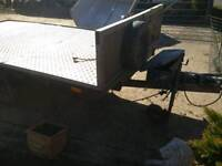 Car trailer plant trailer similar as Ifor Williams