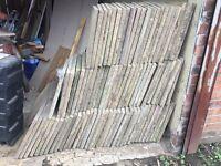 Used paving slabs