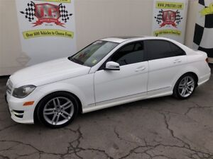2013 Mercedes-Benz C-Class 250, Auto, Navigation, Leather