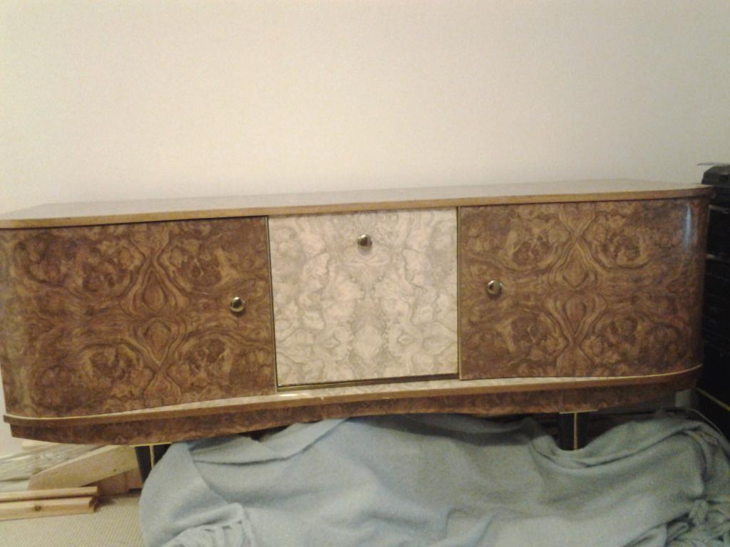 Vintage/Retro 1960's Stonehill Formica &Teak Sideboard