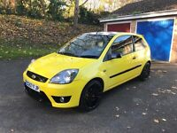 Fiesta zetec s anniversary model limited edition 1.6 sport Long MOT cheap to tax run and insure