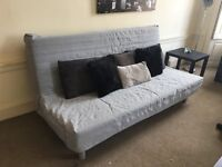 Grey Ikea Sofa Bed for sale