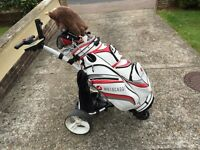 MOTOCADDY S1 DIGITAL BAG&ELECTRIC TROLLEY - BARELY USED - GOOD CONDITION - CAN BE SOLD SEPARATELY