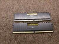 Corsair Vengeance LPX 16GB DDR4 2400 MHz desktop memories for sale