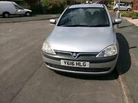 Vauxhall corsa sri 1.4 16v 2001 (Y) £600 ONO