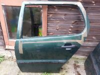 VW Polo 2000 N/S Rear Door green