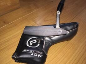 """USED ODYSSEY PROTYPE BLACK 2 350g 34"""" PUTTER"""