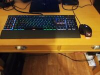 CORSAIR K95 GAMING KEYBOARD + MOUSE