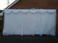 Starcloth Wedding/Event Lit Back Drop 6X3 Metres £250 ono