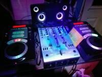 Numark axis 9 professional CD scratch mixers