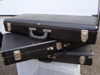 3 BRASS INSTRUMENT CASES ONLY £5 EACH FOR QUICK SALE MUST BE SEEN