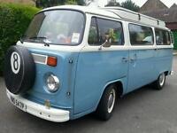 VW Camper van T2 Bay window
