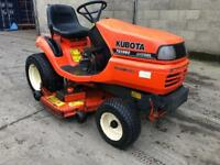 Kubota TG1860 Diesel Ride On Mulching Mower (Delivery Available)