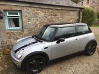 PRICE DROPPED - Mini Cooper 1.6 manual With 12 months MOT