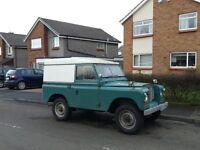 Land Rover Series 3 Taxed and Tested till Sep 17