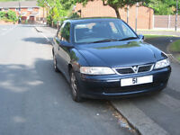 Vectra with 12 months mot. must sell or swap a small car