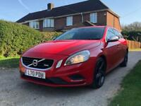 Volvo V60 R DESIGN D3 FULL SERVICE HISTORY 10 MONTHS MOT WINTER PACK SAT NAV HEATED SEATS