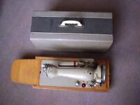Vintage electric sewing machine