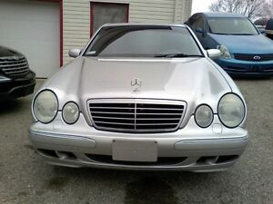 2001 Mercedes-Benz E-Class E320 AWD Sedan All Wheel Drive