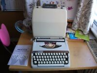 Brother Deluxe 900 Portable Typewriter