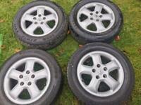 Renault traffic sport alloy wheels