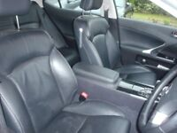 Lexus IS250 62 plate Black with Black Leather interior - not BMW or Audi