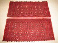 Pair of Matching Persian 100% Wool Rugs/Carpets