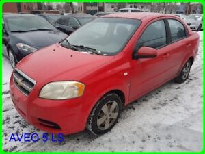 2007 Chevrolet AVEO 5 LS 4DR SDN LS BAS MILLAGE
