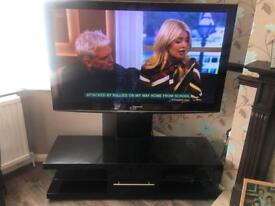 54 inch Panasonic HD 3D TV with stand