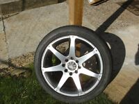 Multi fit alloy wheel ( SPARE)
