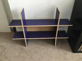 Double wall shelf