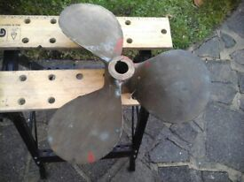 boat prop propeller 21x22 good condition
