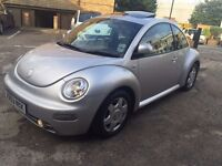 VW VOLKSWAGEN BEETLE 2.0 AUTOMATIC EXCELLENT RUNNING CONDITION GOOD ENGINE AND GEARBOX NO FAULTS!